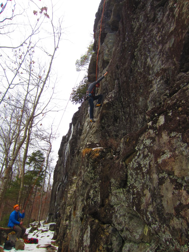 Joe's Garage crag at Cochrane Lane